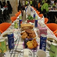 سفره افطار رمضان هایپرمی به گرمای مهر پروردگار